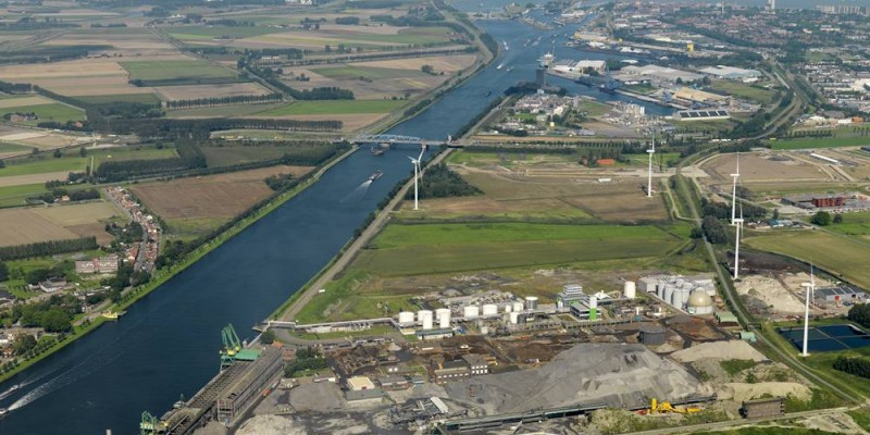 Restwarmte en CO2 levering Zeeland Seaports